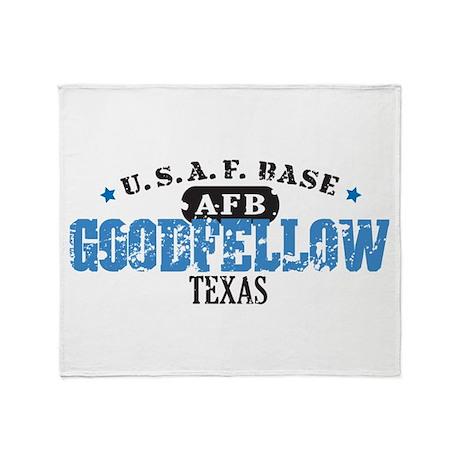 Goodfellow Air Force Base Throw Blanket