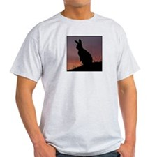 Sunrise Bunny Ash Grey T-Shirt