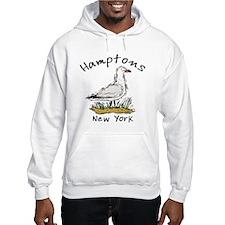 Hamptons NY Seagull Hoodie