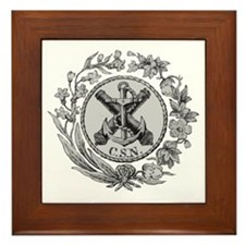 Confederate States Navy Framed Tile
