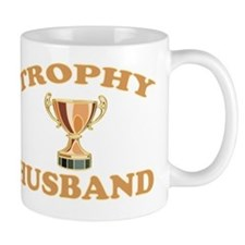 trophy husband Small Mug