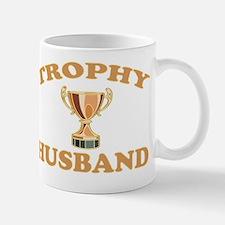 trophy husband Small Small Mug