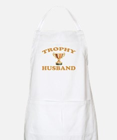 trophy husband Apron