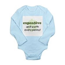 Expensive Long Sleeve Infant Bodysuit