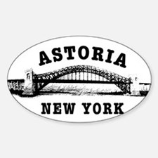 Hellgate Bridge Sticker (Oval)