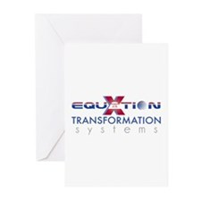 Equation Transformation Syste Greeting Cards (Pk o