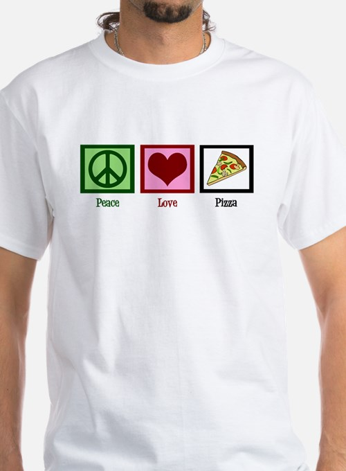 Peace Love Pizza Shirt