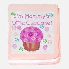Mommy's Little Cupcake baby blanket