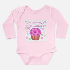 Mommy's Little Cupcake Long Sleeve Infant Bodysuit