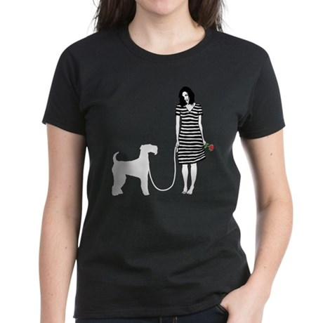 Airedale Terrier Women's Dark T-Shirt