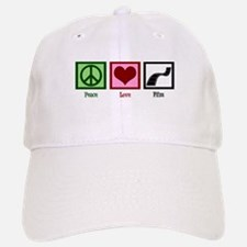 Peace Love Film Baseball Baseball Cap