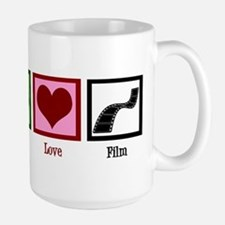 Peace Love Film Mug