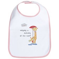 Giraffe in the Rain Bib