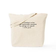 Exsellant Writer Tote Bag