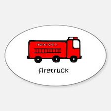 Firetruck Decal