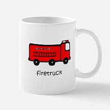 Firetruck Small Small Mug