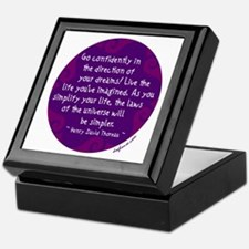 Go Confidently Keepsake Box