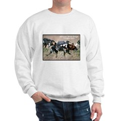 African Wild Dogs Photo (Front) Sweatshirt