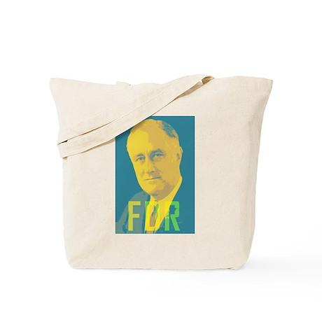 Franklin Roosevelt Tote Bag