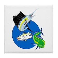 Sailfish Tile Coaster