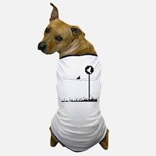 """""""Bird Present"""" Dog T-Shirt"""