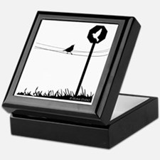"""Bird Present"" Keepsake Box"