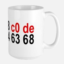 Hex Code Spells Bitch 15oz Mug