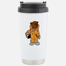 Buzz the Astronaut Bear Stainless Steel Travel Mug