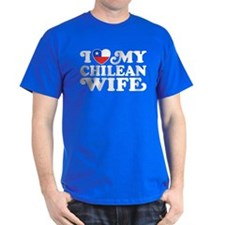 I Love My Chilean Wife T-Shirt