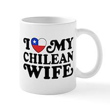 I Love My Chilean Wife Mug