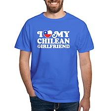 I Love My Chilean Girlfriend T-Shirt