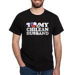 I Love My Chilean Husband Dark T-Shirt