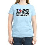 I Love My Chilean Husband Women's Light T-Shirt