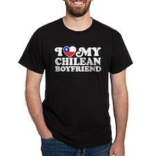 I Love My Chilean Boyfriend T-Shirt