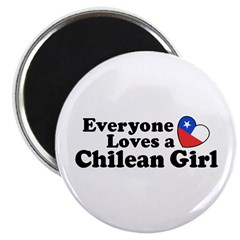 Chilean Girl Magnet