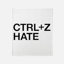 Undo Hate Throw Blanket