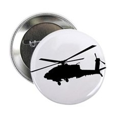 "Cute Apache helicopter 2.25"" Button"