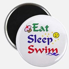 Eat Sleep Swim Magnet
