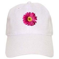 Pop Art Fuchsia Daisy Baseball Cap