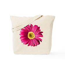 Pop Art Fuchsia Daisy Tote Bag