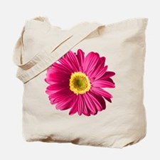 Pop Art Fuchsia Daisy Tote Bag