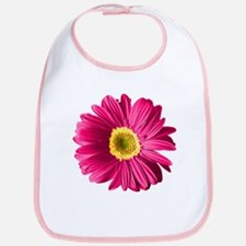 Pop Art Fuchsia Daisy Bib