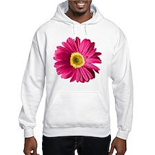 Pop Art Fuchsia Daisy Hoodie Sweatshirt
