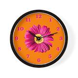 Hot pink Wall Clocks