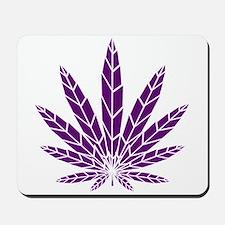 Purple Leaf Mousepad