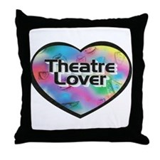 Theatre Lover Throw Pillow