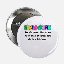 """Swimmers & Cheerleaders 2.25"""" Button (10 pack)"""