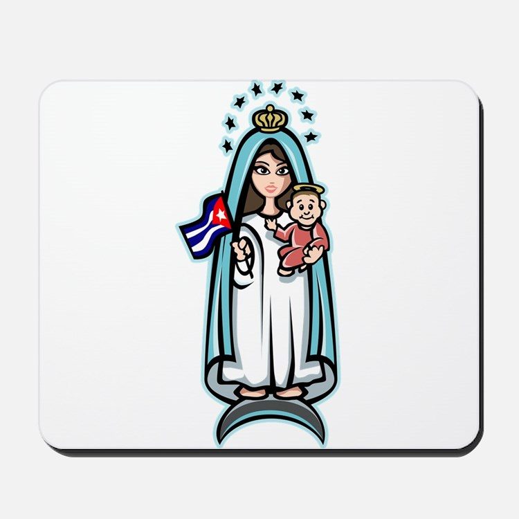 Virgen de la Caridad Mousepad