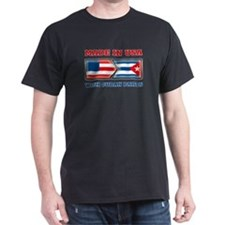 Made in US with Cuban Parts T-Shirt