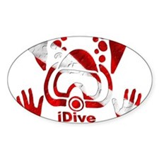 iDive Dive Flag Original Decal